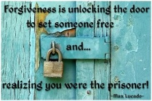 Forgiveness-is-unlocking-the-door-to-set-someone-free
